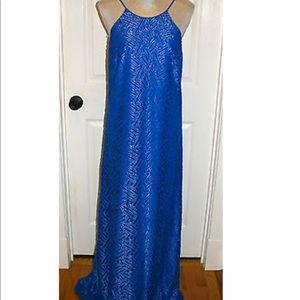 Lily Pulitzer Angel Maxi Dress.